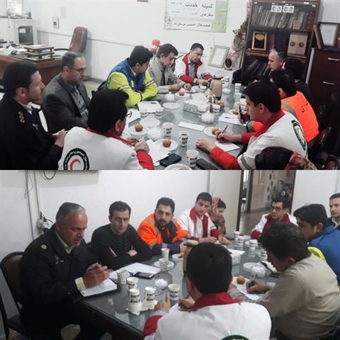 جلسه کمیته امداد و نجات ستاد اجرایی خدمات سفر شهرستان بانه برگزار گردید