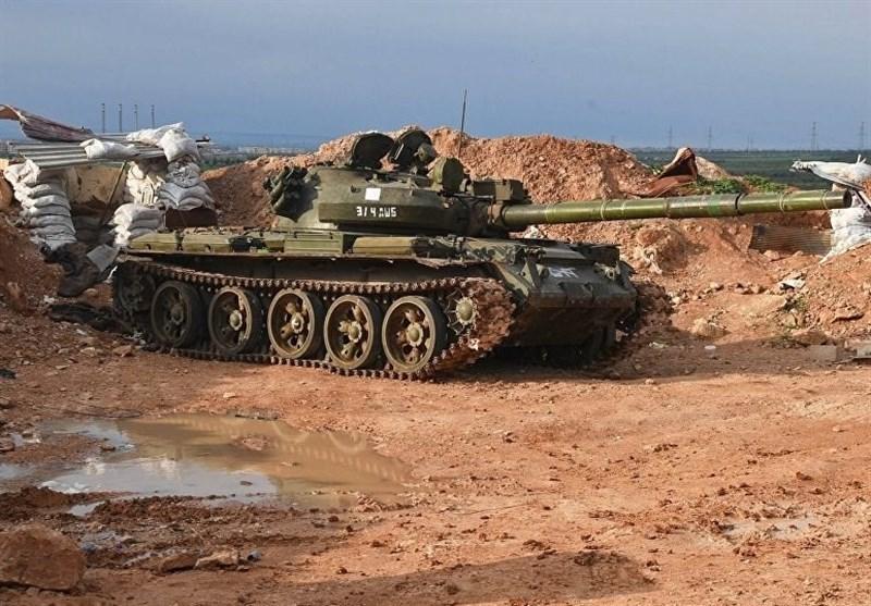 ادامه حملات ارتش سوریه به مواضع تروریست ها در ادلب
