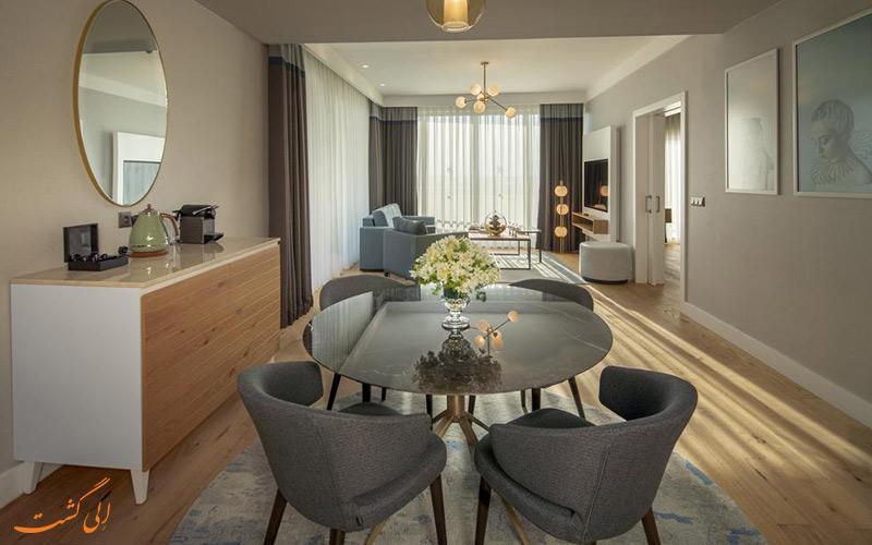 آنالیز قیمت 10 مورد از بهترین هتل های 5 ستاره uall آنتالیا