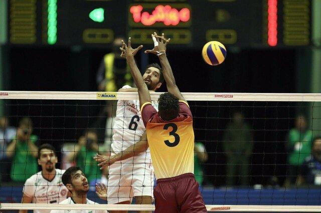 پیروزی راحت والیبال ایران برابر سریلانکا