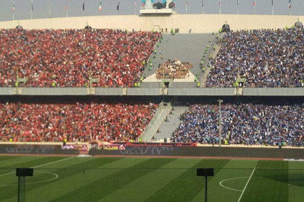 سهمیه طرفداران شهرآورد پایتخت بین هر 2 تیم تقسیم می گردد