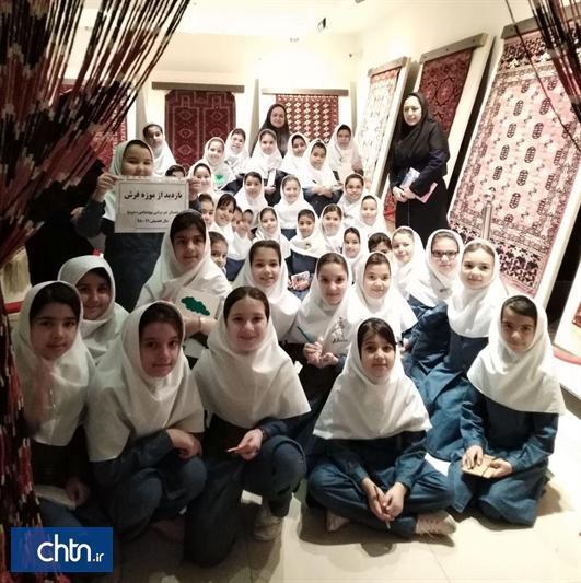 دانش آموزان از موزه فرش گنبدکاووس بازدید کردند