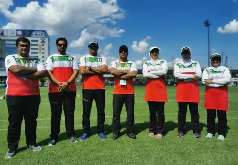 تیراندازی با کمان قهرمانی آسیا، صعود پالیزبان و حلیمیان به یک هشتم نهایی