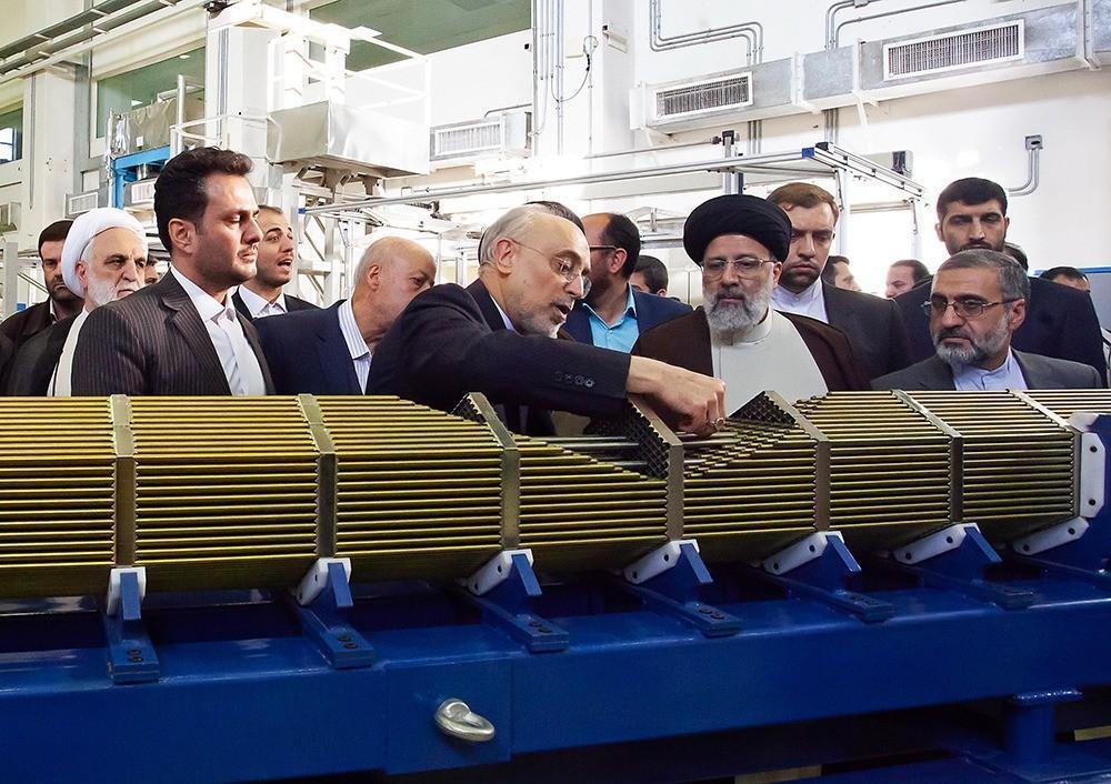 بازدید رئیس قوه قضاییه از سایت هسته ای UCF اصفهان