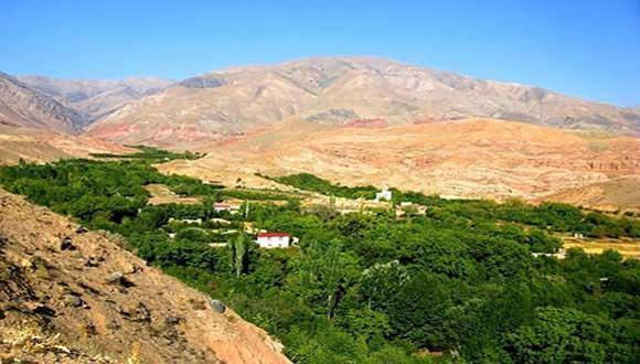 باغرود نیشابور، بهشت دره های بینالود