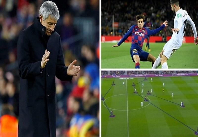 نگاهی به تغییرات تاکتیکی بارسلونا در اولین بازی با راهنمایی ستیِن؛ سلام دوباره به بازی مالکانه