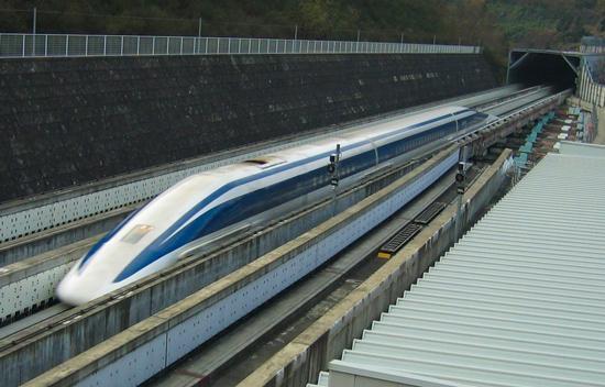 ماگلِو ژاپنی؛ پرسرعت ترین قطار دنیا