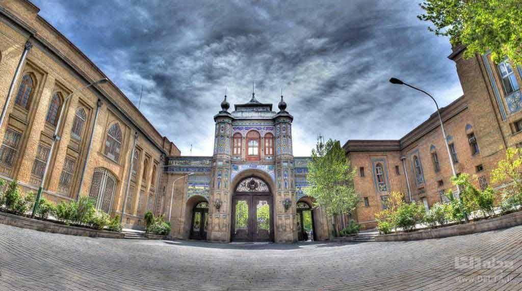 جاهای دیدنی تهران ؛ سردر باغ ملی