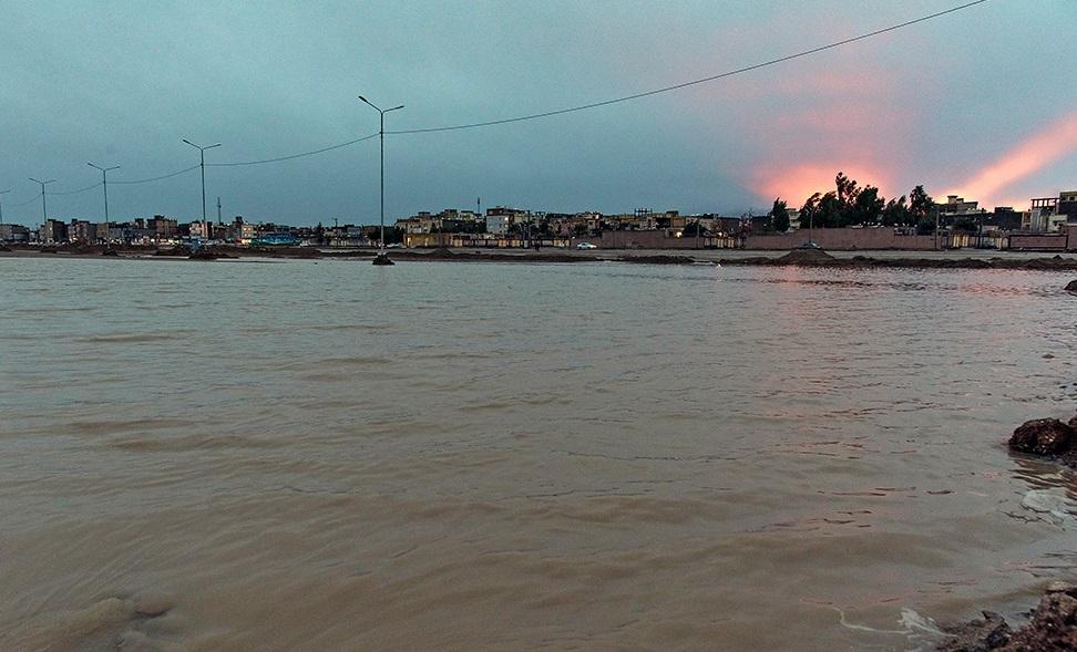 جزئیات جدید از دریاچه ای که بعد از سیل در سیستان و بلوچستان ایجاد شد