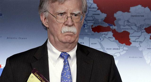 ترامپ: اگر به بولتون گوش می کردم، الان در جنگ جهانی ششم بودیم
