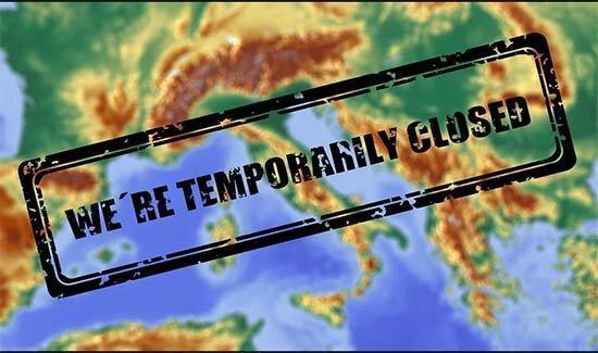 کرونا ، تمام فعالیت های تجاری ایتالیا متوقف شد ، غدا درب منزل