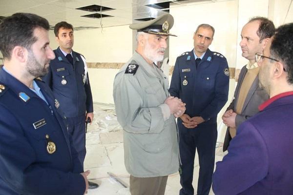 بازدید معاون اجرایی ارتش از بیمارستان بعثت نیروی هوایی ارتش