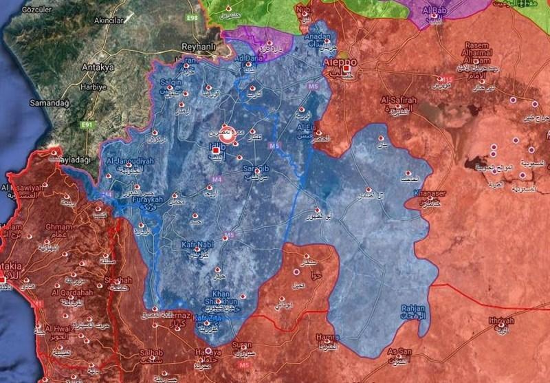 سوریه، آزادسازی کفرنبل از چنگ تروریست ها