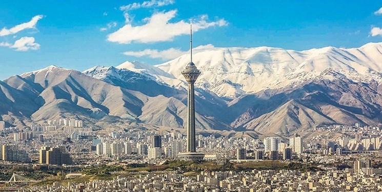 باران آلودگی هوا را برد، هوای تهران پاک شد