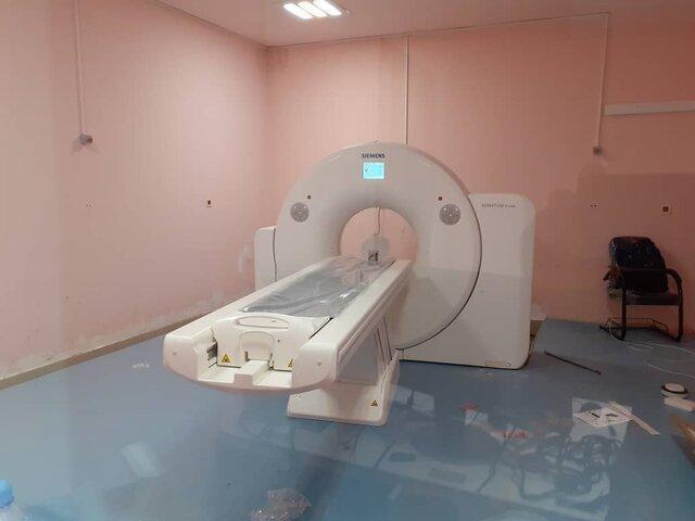 نصب دستگاه سی تی اسکن در بیمارستان شهید جلیل یاسوج