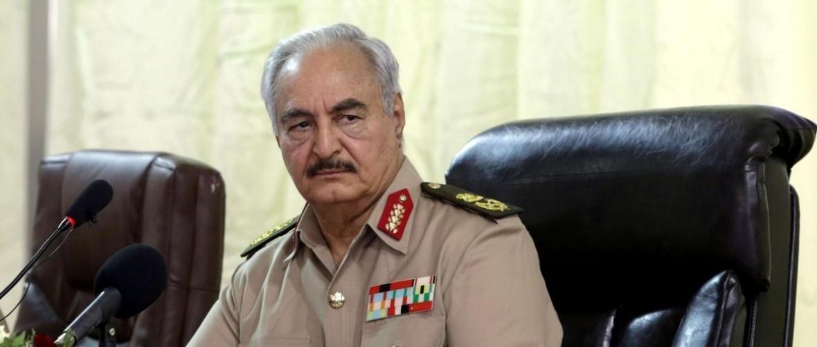 لیبی، استفاده شبه نظامیان حفتر از گاز اعصاب در جنگ طرابلس