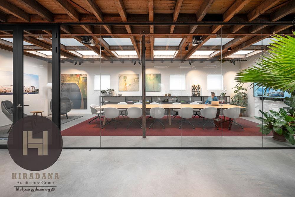 بازسازی و طراحی داخلی اداری هافمن در شهر آمستردام هلند