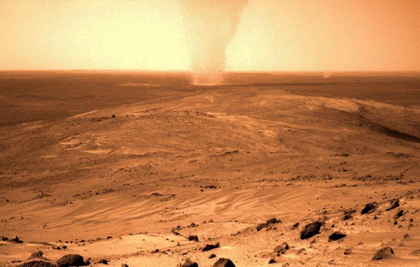 مریخ نورد کنجکاوی یک روح شنی را در مریخ به تصویر کشید