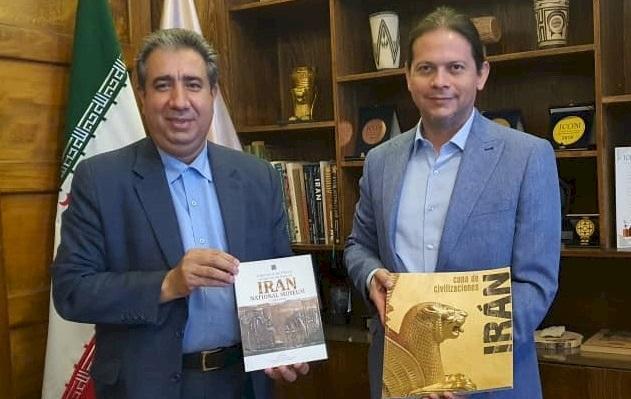 سفیر نیکاراگوئه در تهران خواهان گسترش روابط فرهنگی موزه های دو کشور شد