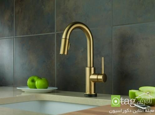 مدل های جدید شیر آب سینک ظرفشویی آشپزخانه با طراحی مدرن