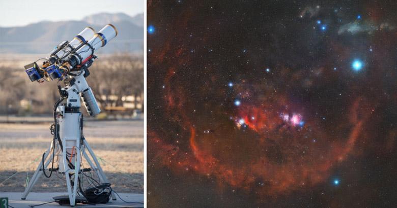 5 سال طول کشید تا این تصویر دیوانه کننده 2.5 گیگاپیکسلی از صورت فلکی شکارچی ثبت گردد