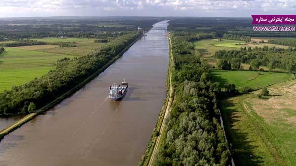 زیباترین کانال های آبی و کشتیرانی دنیا