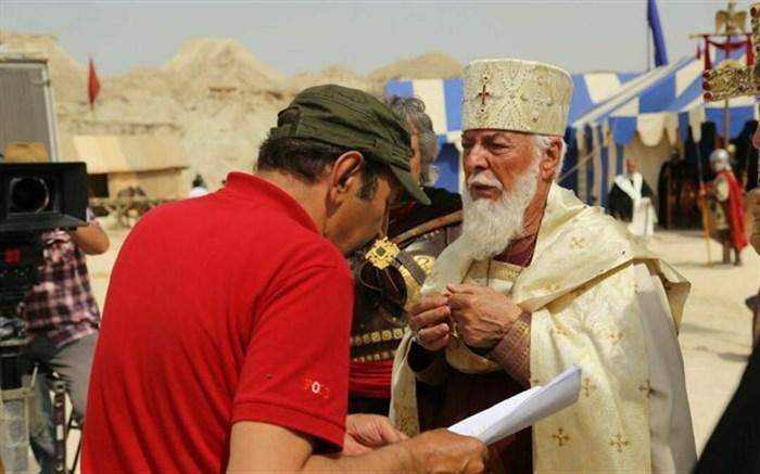 گریم مرحوم چنگیز جلیلوند در سریال تاریخی سلمان فارسی