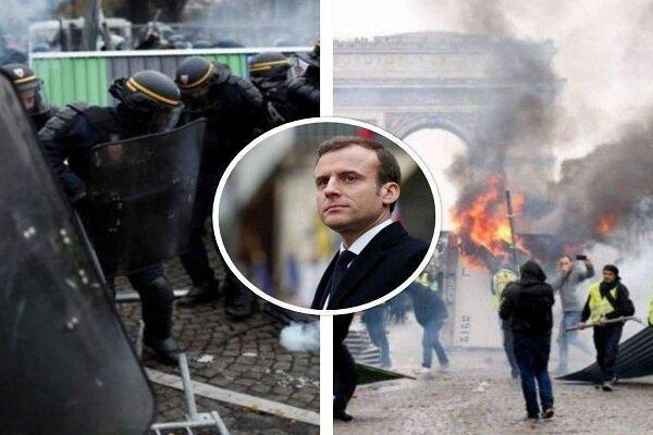 جلیقه زردها به خیابان های پاریس بازگشتند