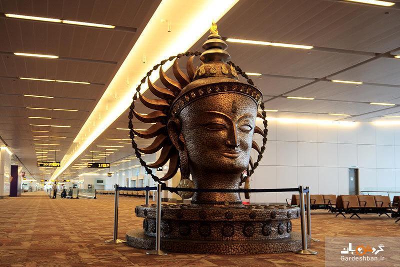 فرودگاه بین المللی ایندیرا گاندی؛فرودگاه اصلی دهلی نو