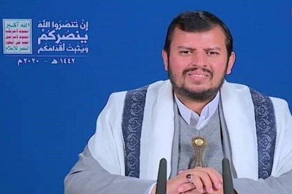الحوثی: حملات ائتلاف سعودی هرگز زندگی ما را مختل نمی کند