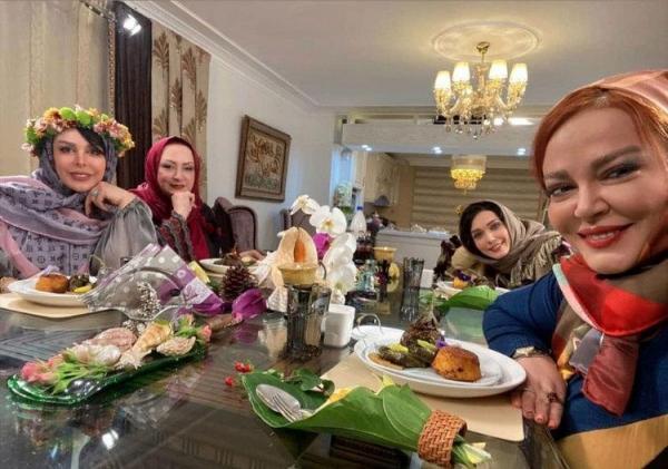 (ویدئو) دعوای شدید بهاره رهنما و فلور نظری در شام ایرانی؛ فلور نظری با گریه صحنه را ترک کرد!