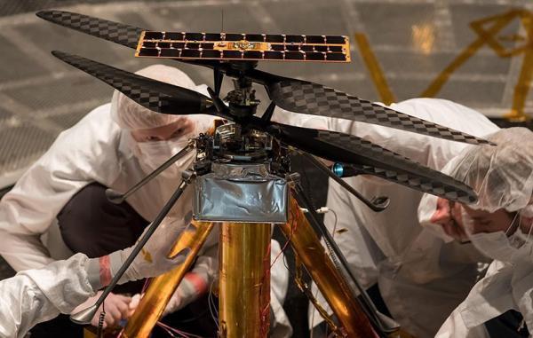 پرواز بالگرد نبوغ در مریخ تا زمانی نامشخص به تأخیر افتاد