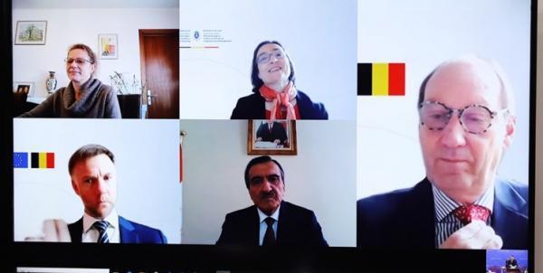 برگزاری سومین دور رایزنی های سیاسی تاجیکستان و بلژیک