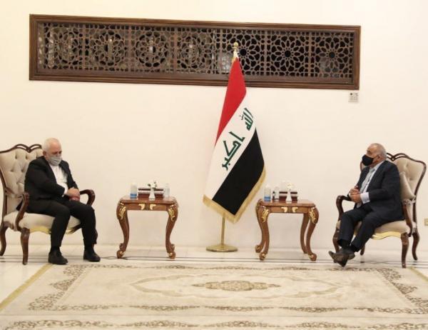 خبرنگاران ظریف با نخست وزیر سابق عراق گفت وگو کرد