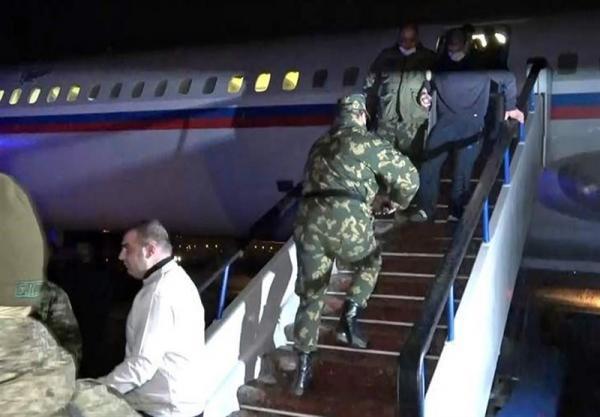 روسیه نظامیان ارمنستانی آزاد شده در آذربایجان را به ایروان تحویل داد