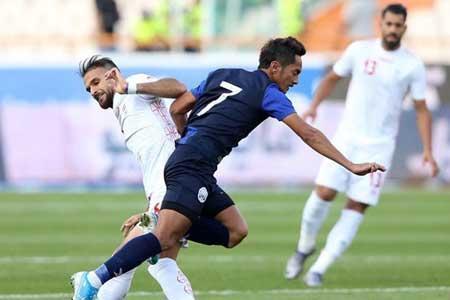 ایران ، کامبوج دیداری بدون مربیان بازی رفت ، جدال تیم سی و یکم با صد و شصت و نهم جهان