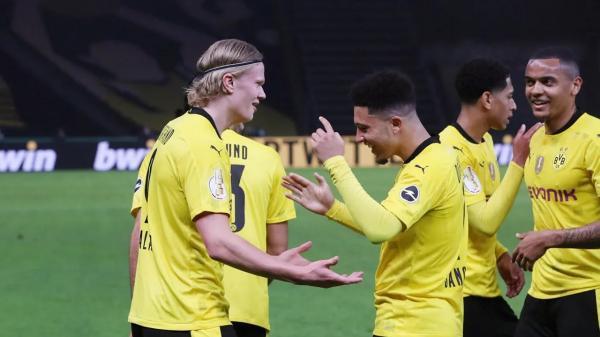 دورتموند با درخشش سانچو و هالند قهرمان جام حذفی آلمان شد
